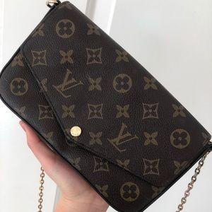 Louis Vuitton Chain Wallet